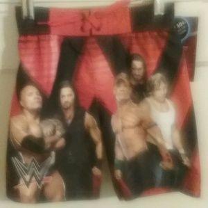 Boys, WWE, swim trunks